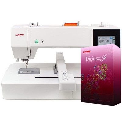 janome mc 500 with JR Franklins sewing