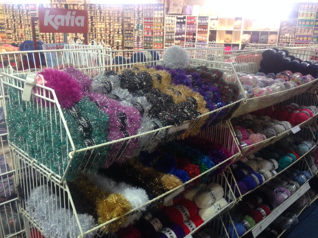 knitting supplies supermarket