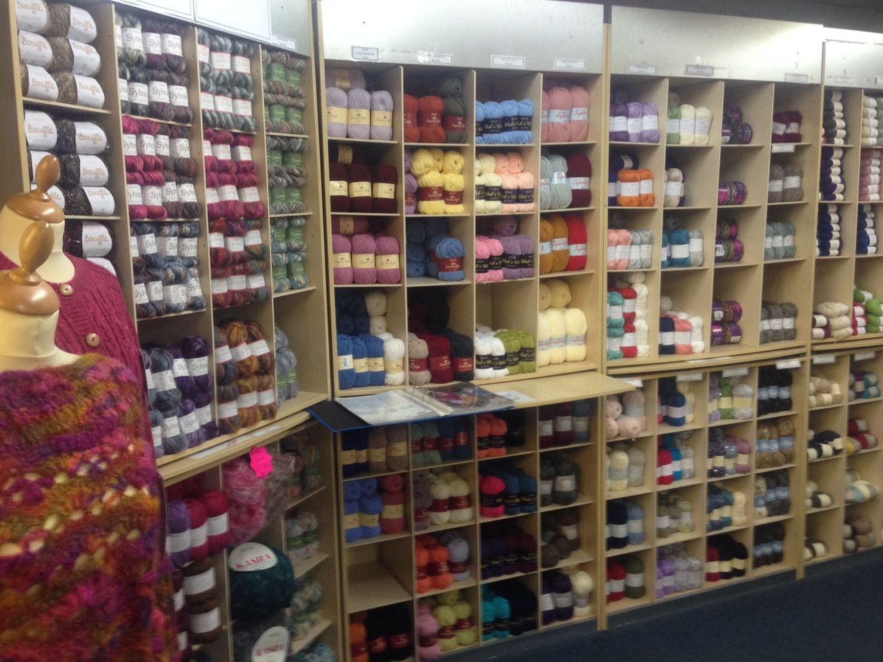 yarn supplies supermarket