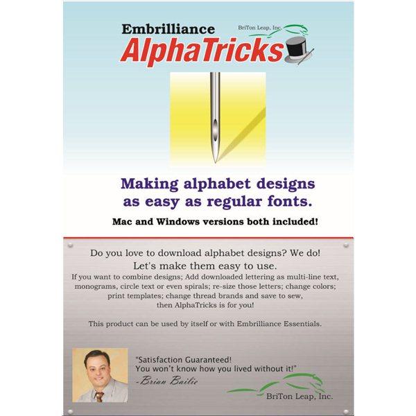 Embrilliance Alpha Tricks