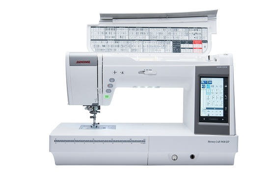 Janome MC9400 5 - Franklins Group