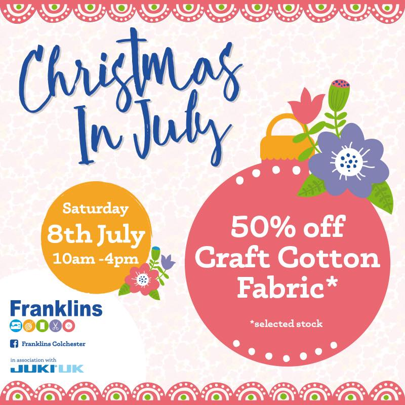 Christmas In July - Franklins Group