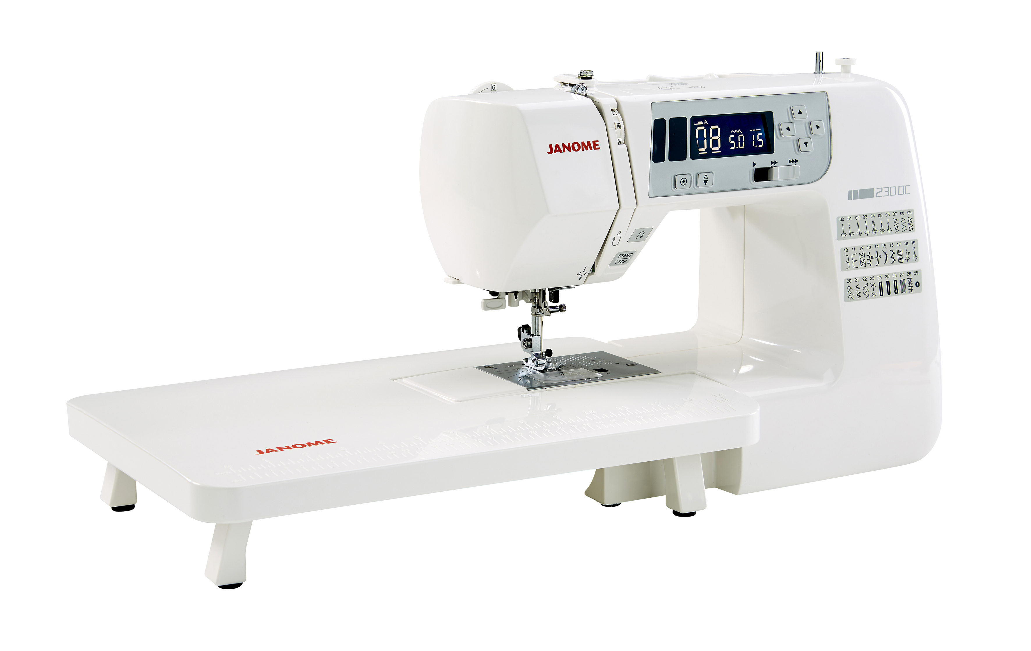 Janome 230DC 3- Franklins Group