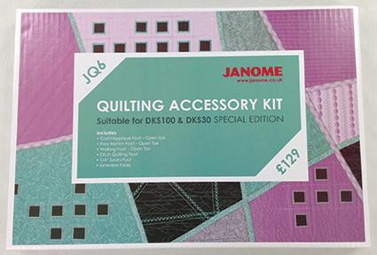 Janome JQ6 Quilt Kit 2 Franklins sewing - Franklins Group