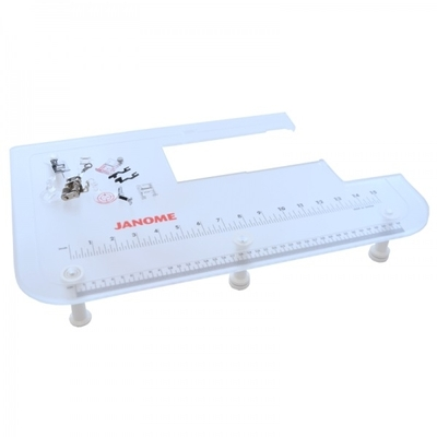 Janome JQ8 Extension Table & Quilting Kit