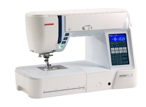 Janome Atelier 6 Sewing Machine side - Franklins Group