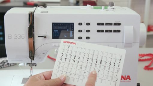 bernina 335 stitches sewing machine - Franklins Group