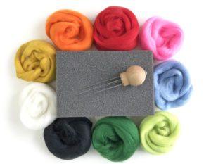 wool felting set