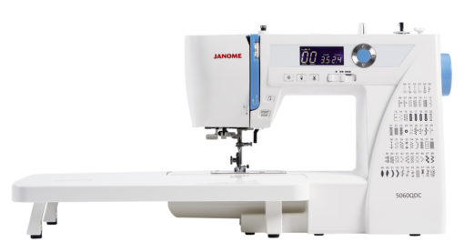 Janome 5060_QDC_with extension table