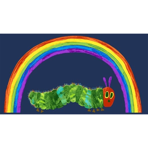 The very hungry caterpillar - panel blue