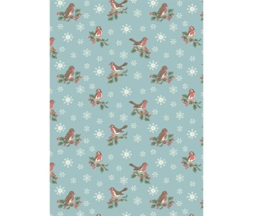 Liberty's Festive Collection - Jolly Robin A