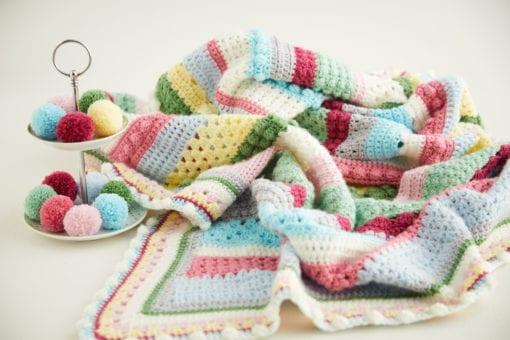 Sweet blossom Blanket Crochet